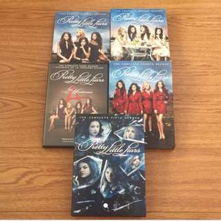 PRETTY LITTLE LIARS SEASONS 1-5