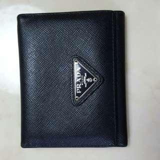 Authentic PRADA card holder