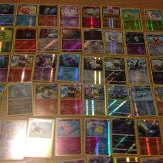1100 PCs Pokemon Cards