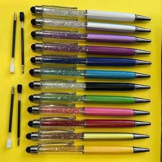 Crystal stylus pen