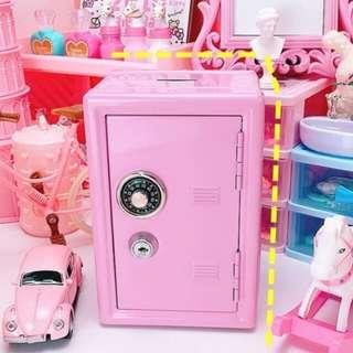 (PO) mini pink lock save 🔐   deco