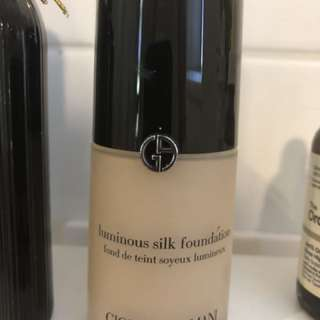 Georgio Armani Luminous Silk Foundation - Shade 2