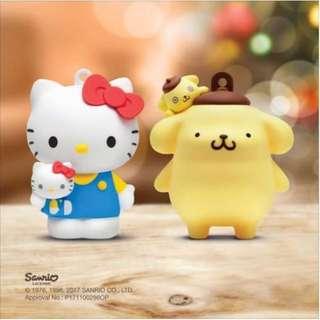 八達通 公仔 布甸狗 Hello Kitty 禮物 聖誕