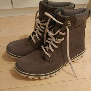 Timberland Grey Booties size 9.5 Ladies