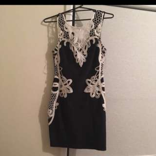 MOCKTAIL DRESS TIGHT FIGHTING SIZE L
