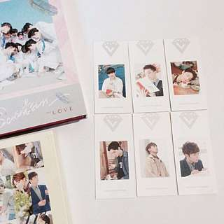 Seventeen Love & Letter album