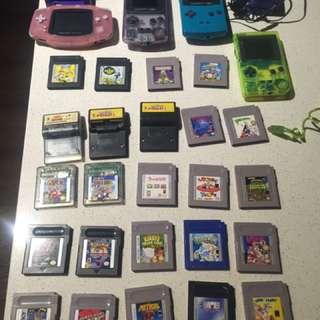 Nintendo Game Boy Collection