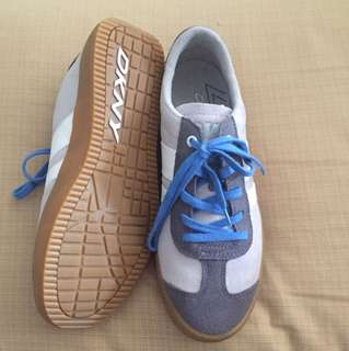 Authentic DKNY suede sneakers
