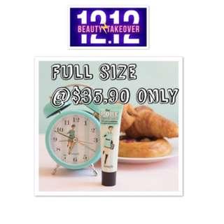 12.12 sale full size benefit porefessional