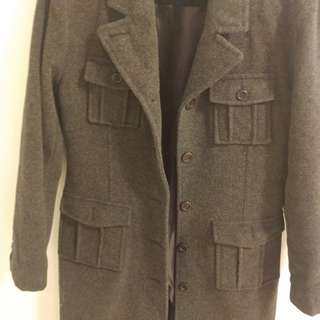 Mendocino Size 8 wool coat