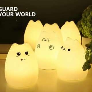 Cat Night Lamp (silicone)