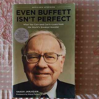 Warren buffet-Even Buffet isn't perfect