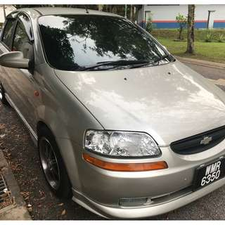 2004 Chevrolet Aveo (Auto) for Sale