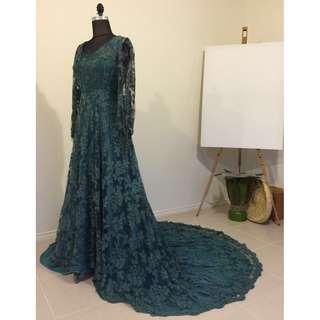 Vintage Cotton Lace Gown