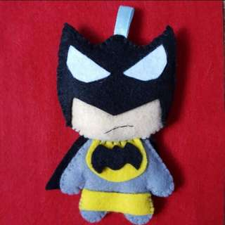 Handmade Felt Super Hero Batman