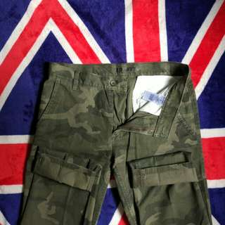 Chino Pants Old Navy Camo Slim Fit