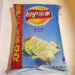 Lay's樂事青檸味薯片
