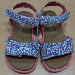 Toms floral sandals for grl toddler