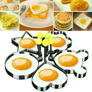 Stainless Steel Frying Egg Mould Stool