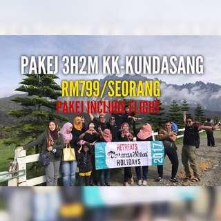 Pakej 3D 2N KK - Kundasang with flight