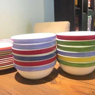 🚚 法國製彩虹湯碗