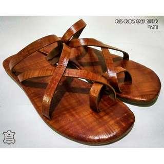 MSYLI Leather Sandal  1-2week(s) Pre-order