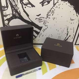 Authentic AIGNER watch box