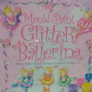 Mould & Paint Kit - Glitter Ballerina