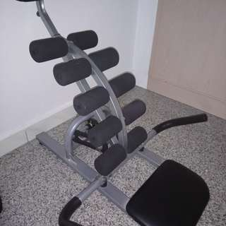 Abs Machine (Black Power) Good for Exercise
