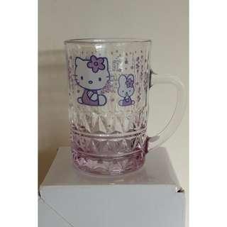 """""""Hello Kitty""""小玻璃杯一對"""