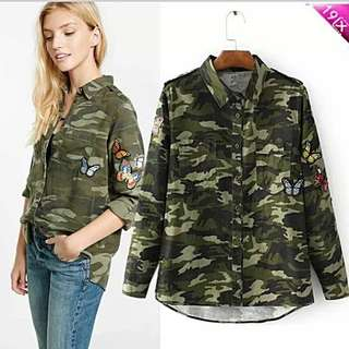 Polo or army jacket