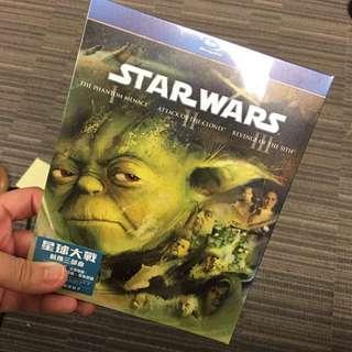 Star wars blu-ray 前傅