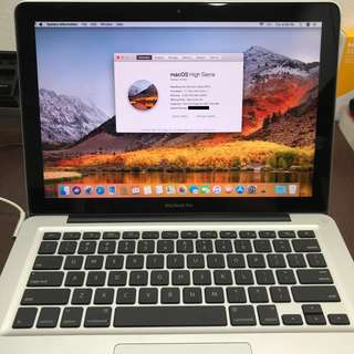 Macbook Pro 13 inch i7 (2011) with brand new SSD