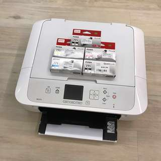 Canon MG5770 Wireless All-In-One Printer& Extra Inks
