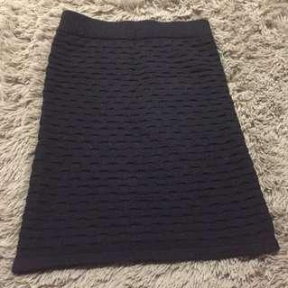 Winter pencil skirt