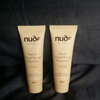 Nude by Nature-Natural tinted Mineral Moisturiser in nude beige