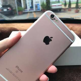 Iphone6s 64GB 玫瑰金