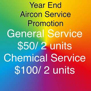 Aircon Service Promotion