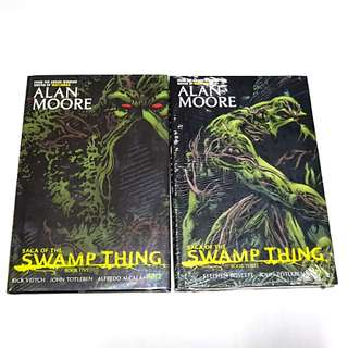 SAGA OF SWAMP THING VOL 3 AND 5 HARDCOVER DC COMICS ALAN MOORE