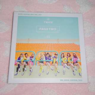 Twice Page Two Thailand Version CD+DVD