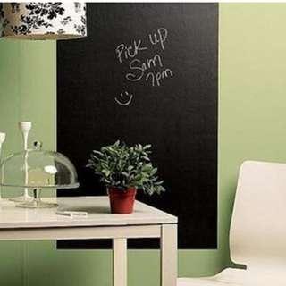 Large Blackboard 60 x 100cm Removable Wall Sticker Chalkboard Decal