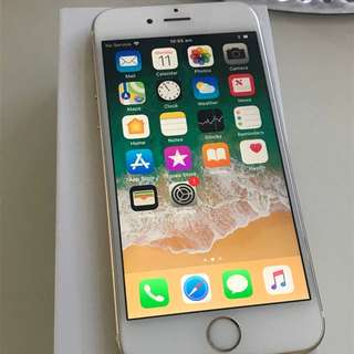 MINT CONDITION APPLE IPHONE 6 64GB GOLD SMARTPHONE