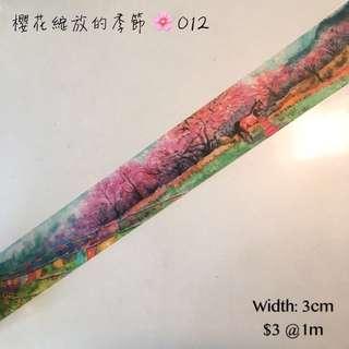 Tape 分裝 櫻花綻放的季節