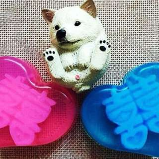 Happiness soap favor