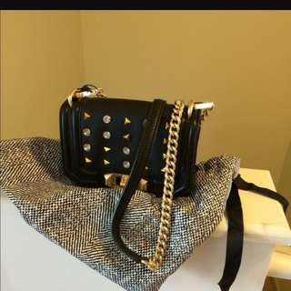 💯Rebecca Minkoff Studded Sling / Crossbody bag