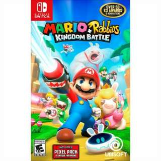 Mario + Rabbids Kingdom Battle on Nintendo Switch