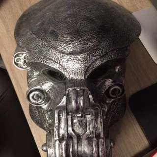 鐵血戰士1比1 面具擺設 Predator