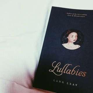 🖤 (PO) Lullabies by Lang Leav.