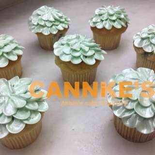 Flower Dress Cupcake 花裙子杯子蛋糕