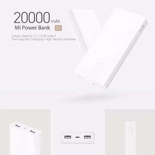 Xiaomi Powerbank 20000 Gen 2C Latest NEW
